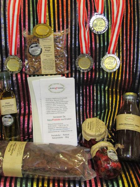 5 Gold- Silber u Bronze-Medaillen in Wieselburg hier bei Mischpilze 3er-Mix gemahlen mit Rezept
